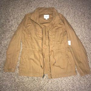 NWT Tan Lightweight Jacket